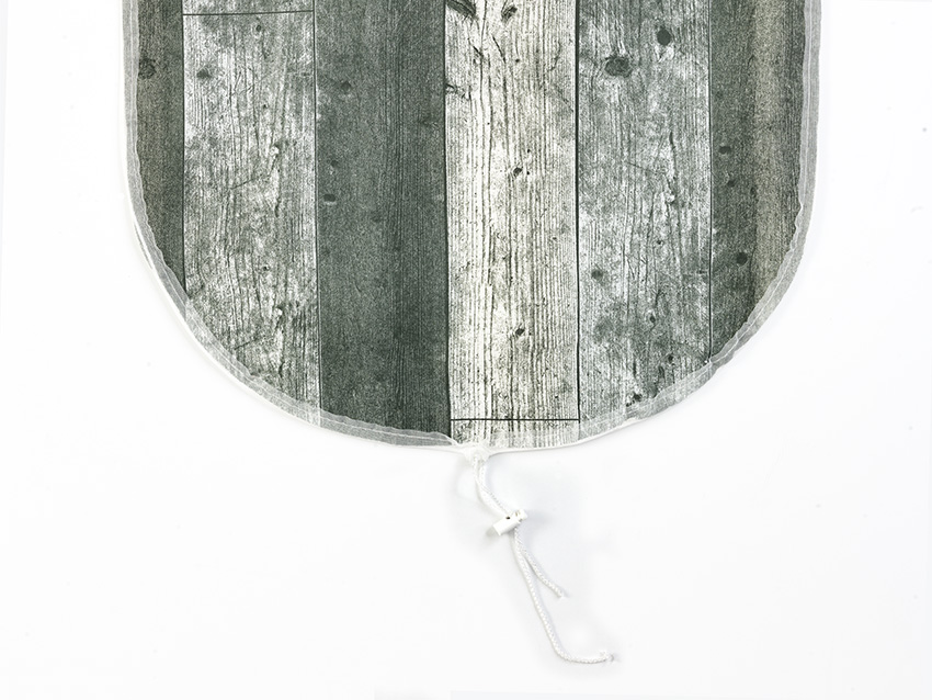 ironing board cover scaffolding wood grey